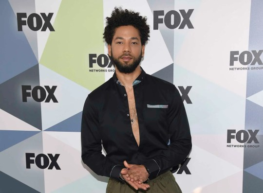 'Empire' star Jussie Smollett, who says he was attacked by two men using racist and homophobic slurs, received a show of support Thursday from the Fox network and the studio that produces the drama series.