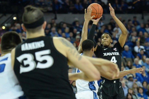 Image result for Creighton Bluejays vs Xavier Musketeers College Basketball 2019