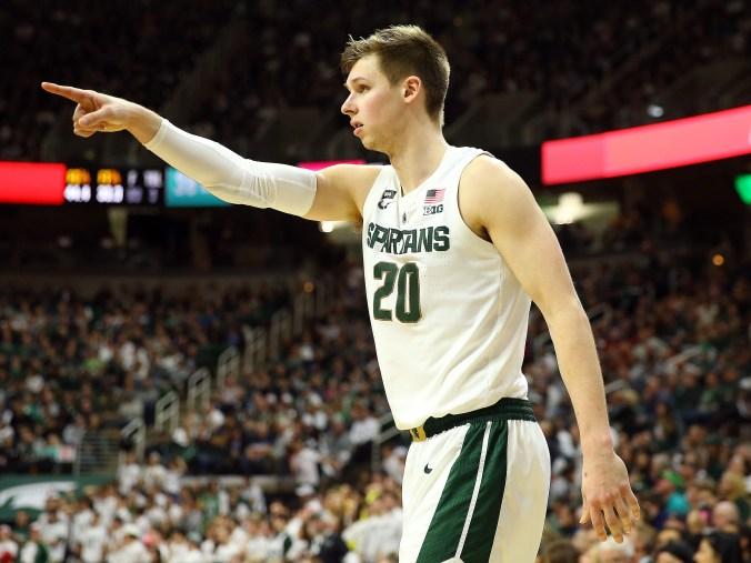 Michigan State Spartans Vs Indiana Hoosiers college basketball 2019 এর ছবির ফলাফল