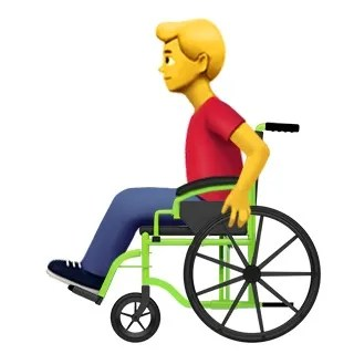 wheelchair emoji event essentials chair covers apple backed for people with disabilities coming soon