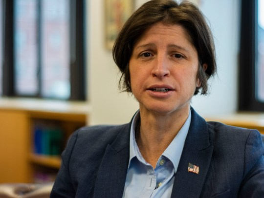 U.S. Attorney Christina Nolan at her office on Feb. 4, 2019