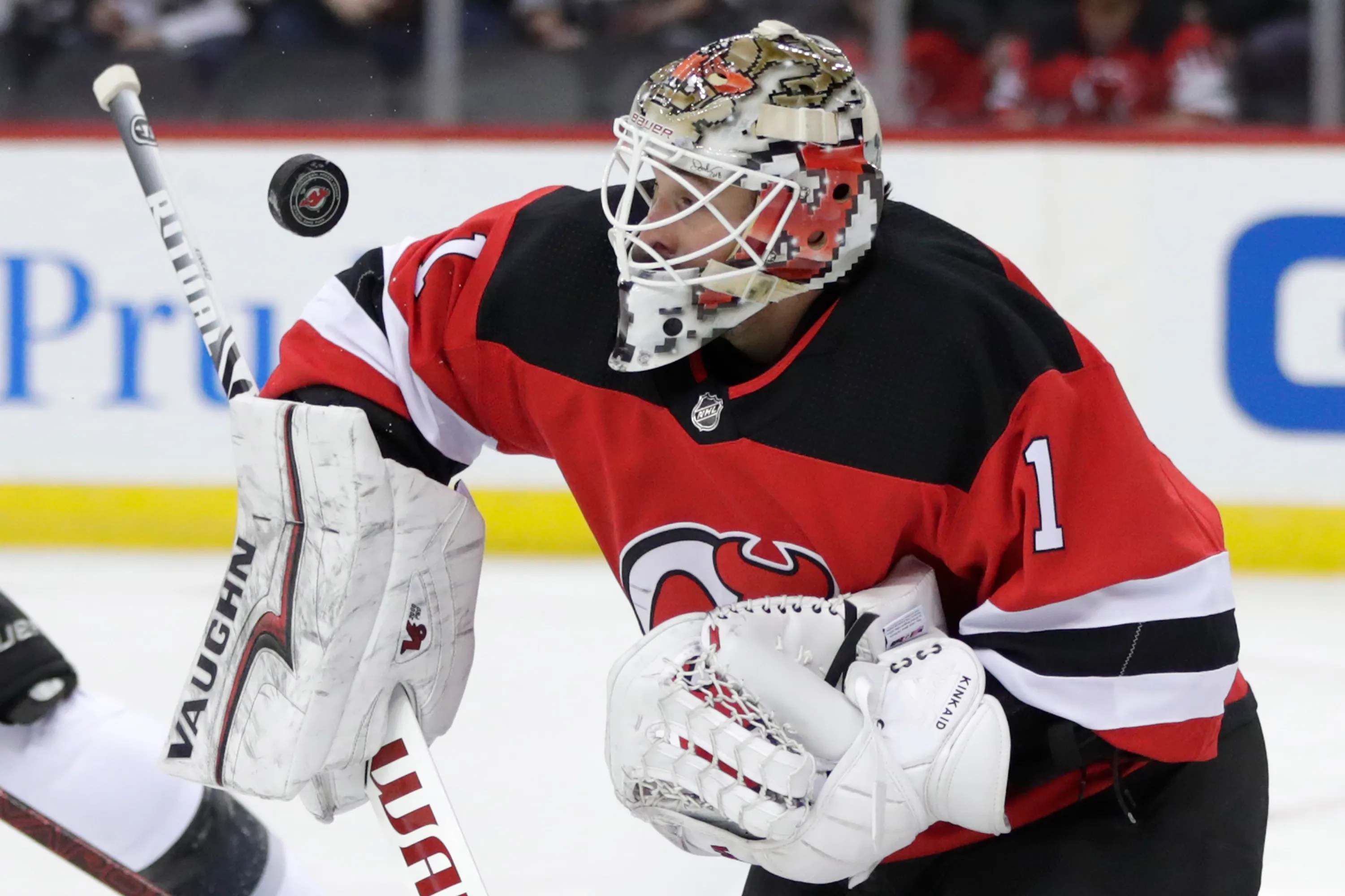 Nj Devils Trade Keith Kinkaid To Columbus On Nhl Trade
