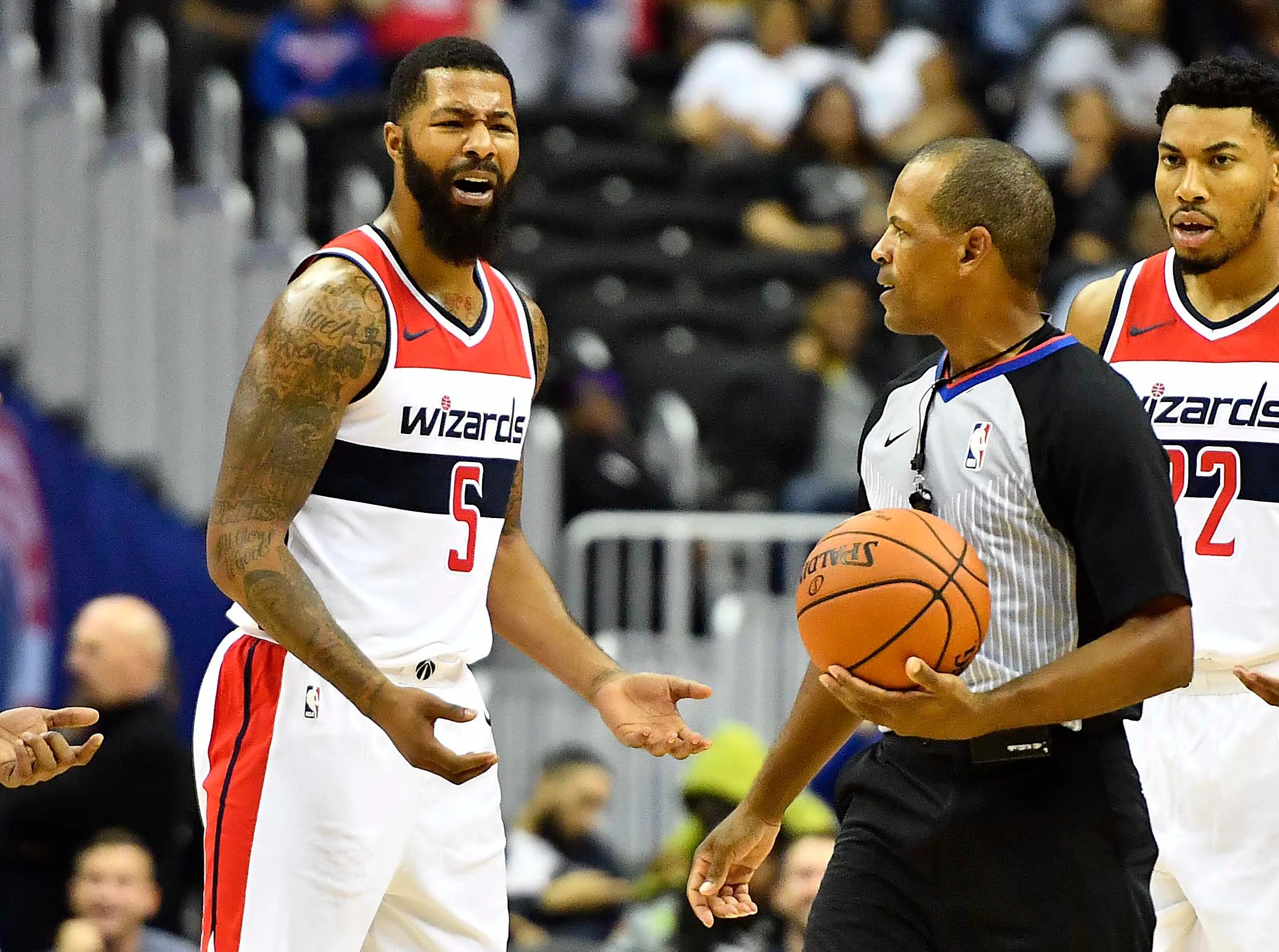 Wizards Markieff Morris Traded Hours After Local