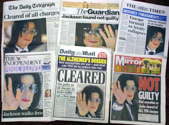 Michael Jackson was cleared of charges that he molested 13-year-old Gavin Arvizo in a 2005 trial.