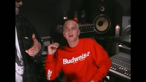 """Rare video captures Eminem and the Bass Brothers 20 years ago during the """"The Slim Shady LP"""" release"""