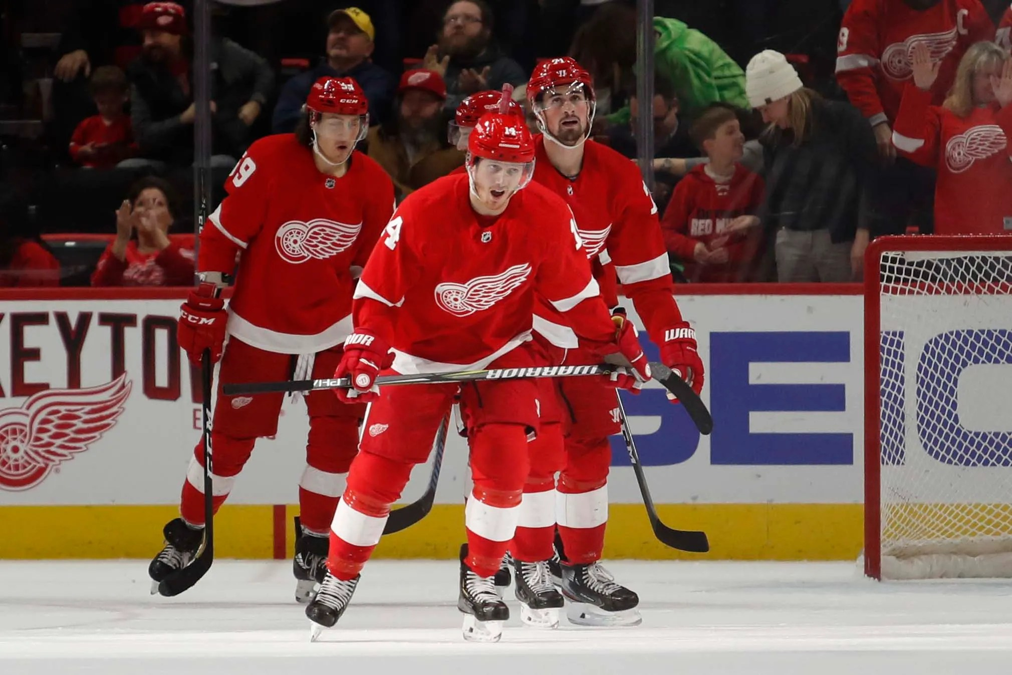 Detroit Red Wings Trade Gustav Nyquist To San Jose Sharks