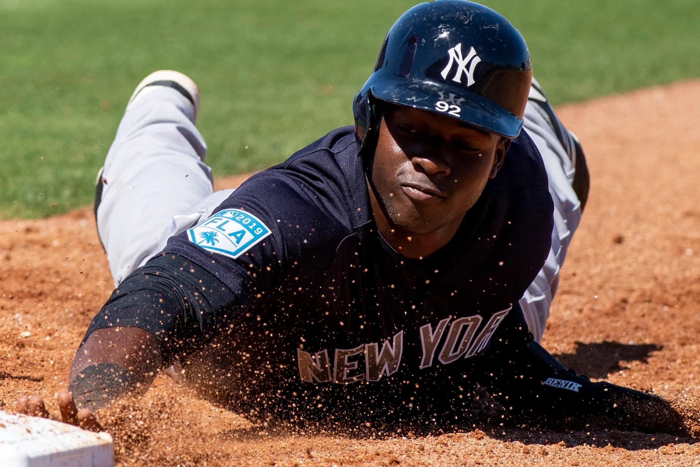 New York Yankees Estevan Florial Comes In As Team S No