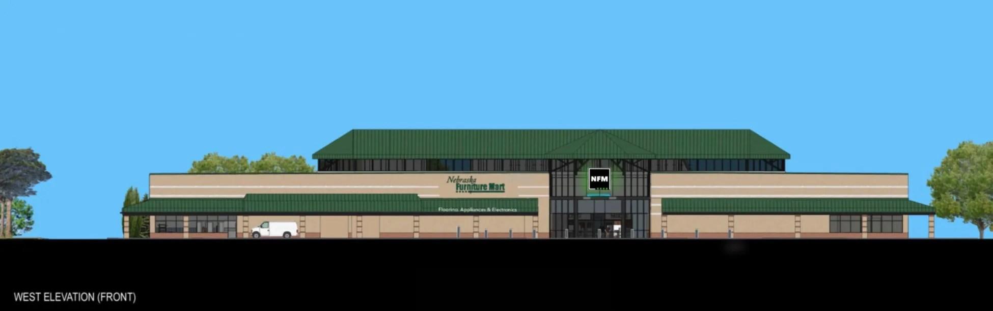 Nebraska Furniture Mart Prepares For Grand Opening