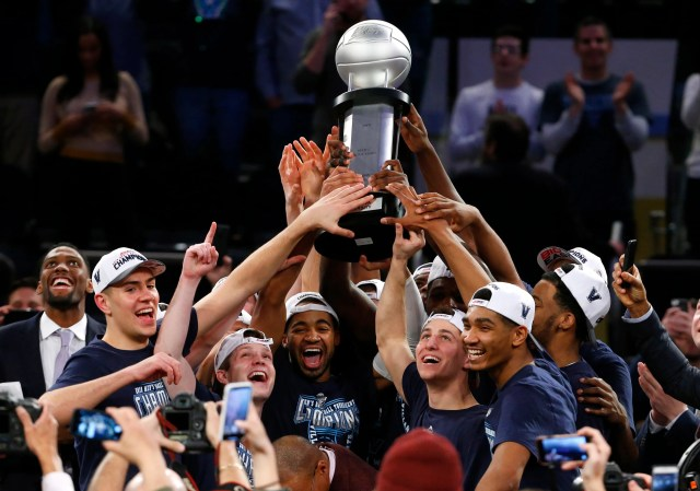 Villanova (25-9), No. 6 seed in South, Big East Conference champion. Eliminated in round of 32.