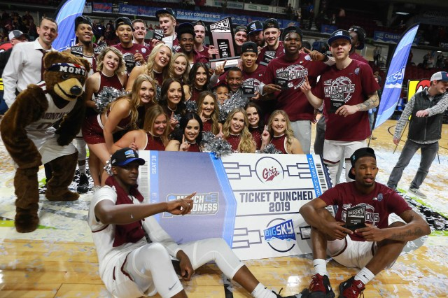 Montana (26-9), No. 15 seed in West, Big Sky Conference champion. Eliminated in first round.