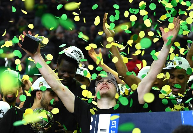Oregon (23-12), No. 12 seed in South, Pac-12 Conference champion. Eliminated in Sweet 16.