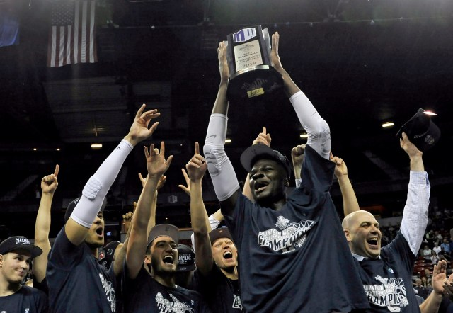 Utah State (28-6), No. 8 seed in Midwest, Mountain West Conference champion. Eliminated in first round.