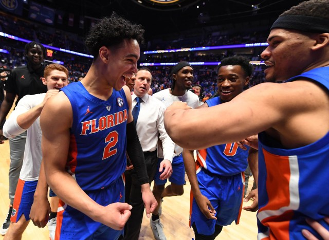 Florida (19-15), No. 10 seed in West, at-large bid out of Southeastern Conference. Eliminated in round of 32.