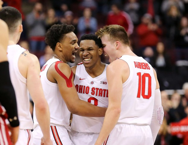 Ohio State (19-14), No. 11 seed in Midwest, at-large bid out of Big Ten Conference