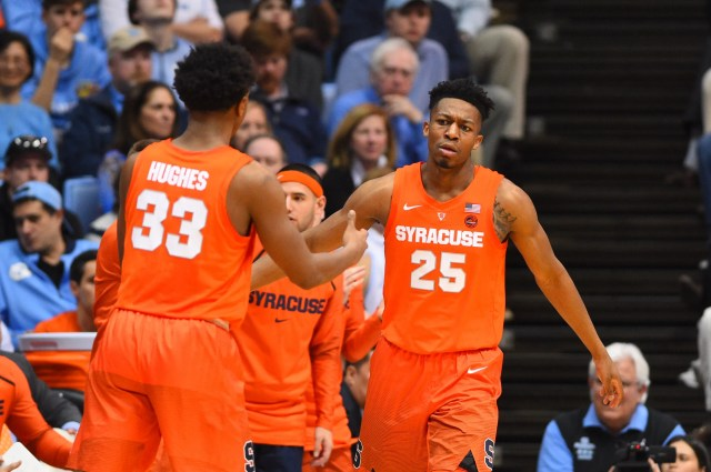 Syracuse (20-14), No. 8 seed in West, at-large bid out of Atlantic Coast Conference. Eliminated in first round.