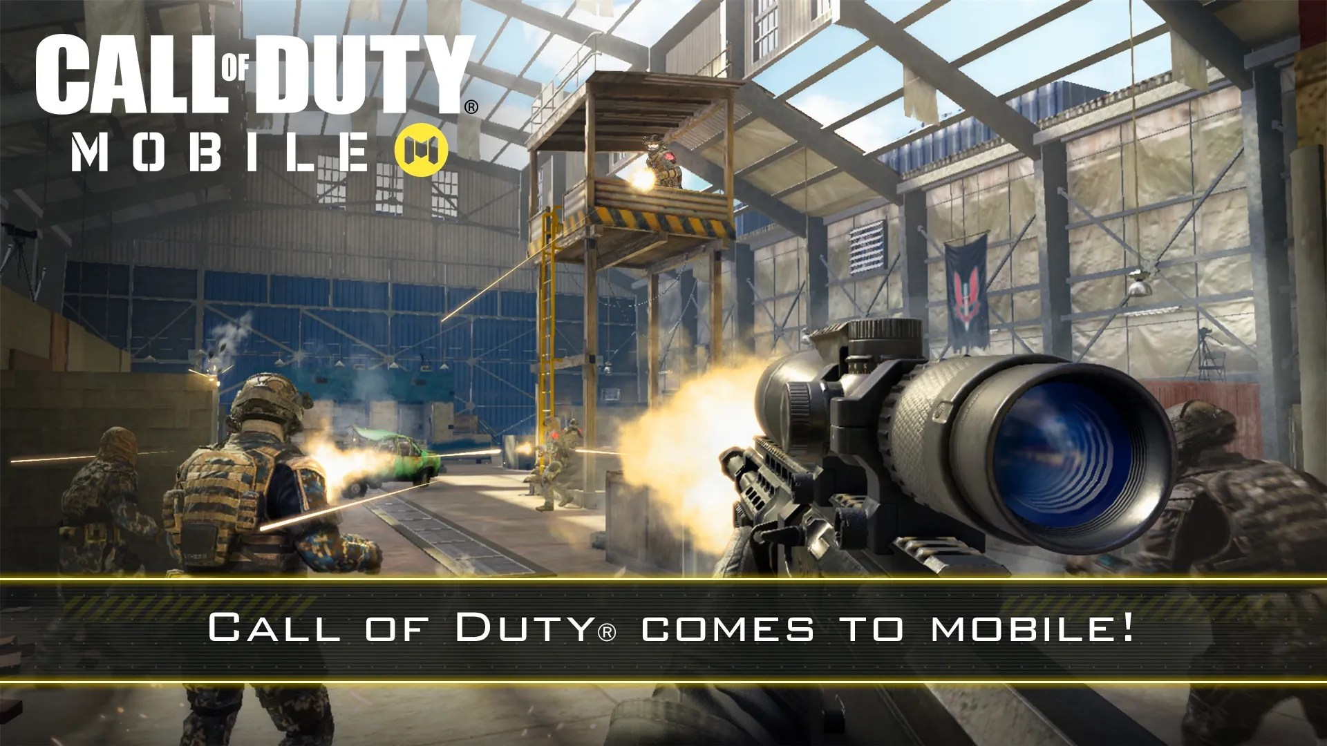 Call Of Duty Mobile Video Game Coming For Smartphones