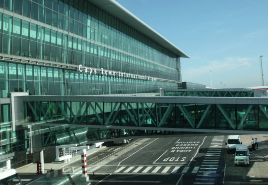 # 22: Cape Town International Airport, South Africa.