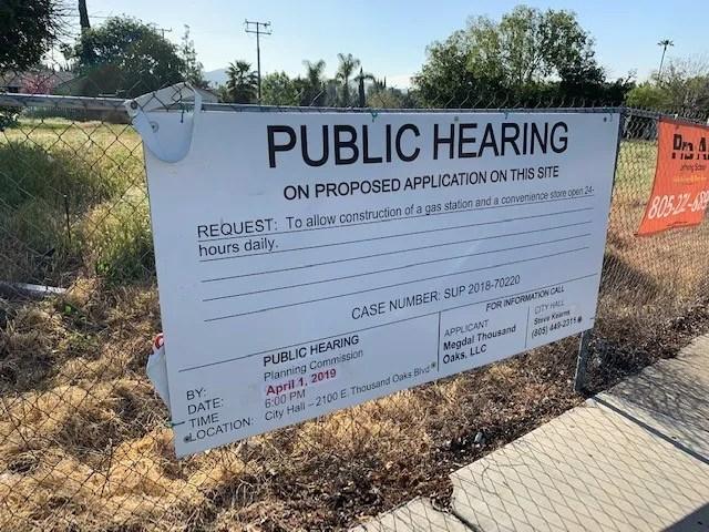 thousand oaks planning commission votes