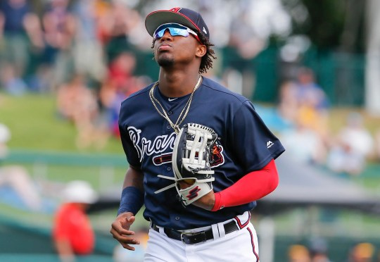 Ronals Acuna Jr. hit .293 with 26 homers last season.
