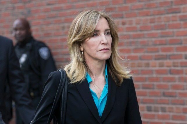 Felicity Huffman's sentencing date has arrived in historic college admissions scandal