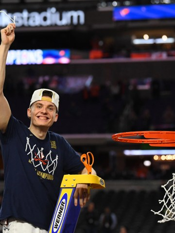 Virginia guard Kyle Guy has achieved the ultimate high in college basketball.