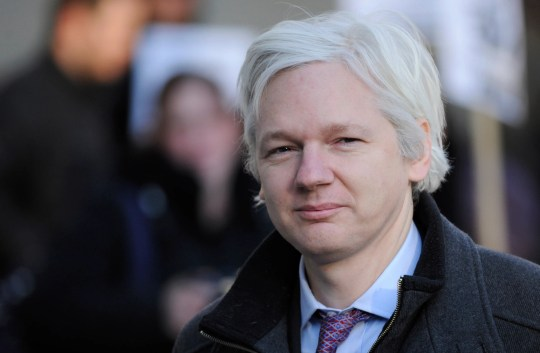 Wikileaks founder Julian Assange arrives at the Supreme Court in London in February 2012. Assange was arrested at the Ecuadorian Embassy in London on Thursday.