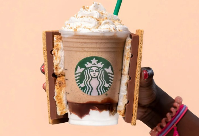 Starbucks Summer Menu Smores Frappuccino New Sandwiches And More