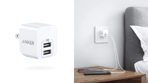 Charge your devices faster than ever with this wall charger.