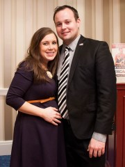 Anna Duggar and Josh Duggar in 2015.