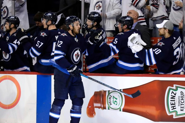 RW Kevin Hayes, Winnipeg Jets. His rights were traded to Philadelphia and he signed a seven-year, $50 million deal with the Flyers.