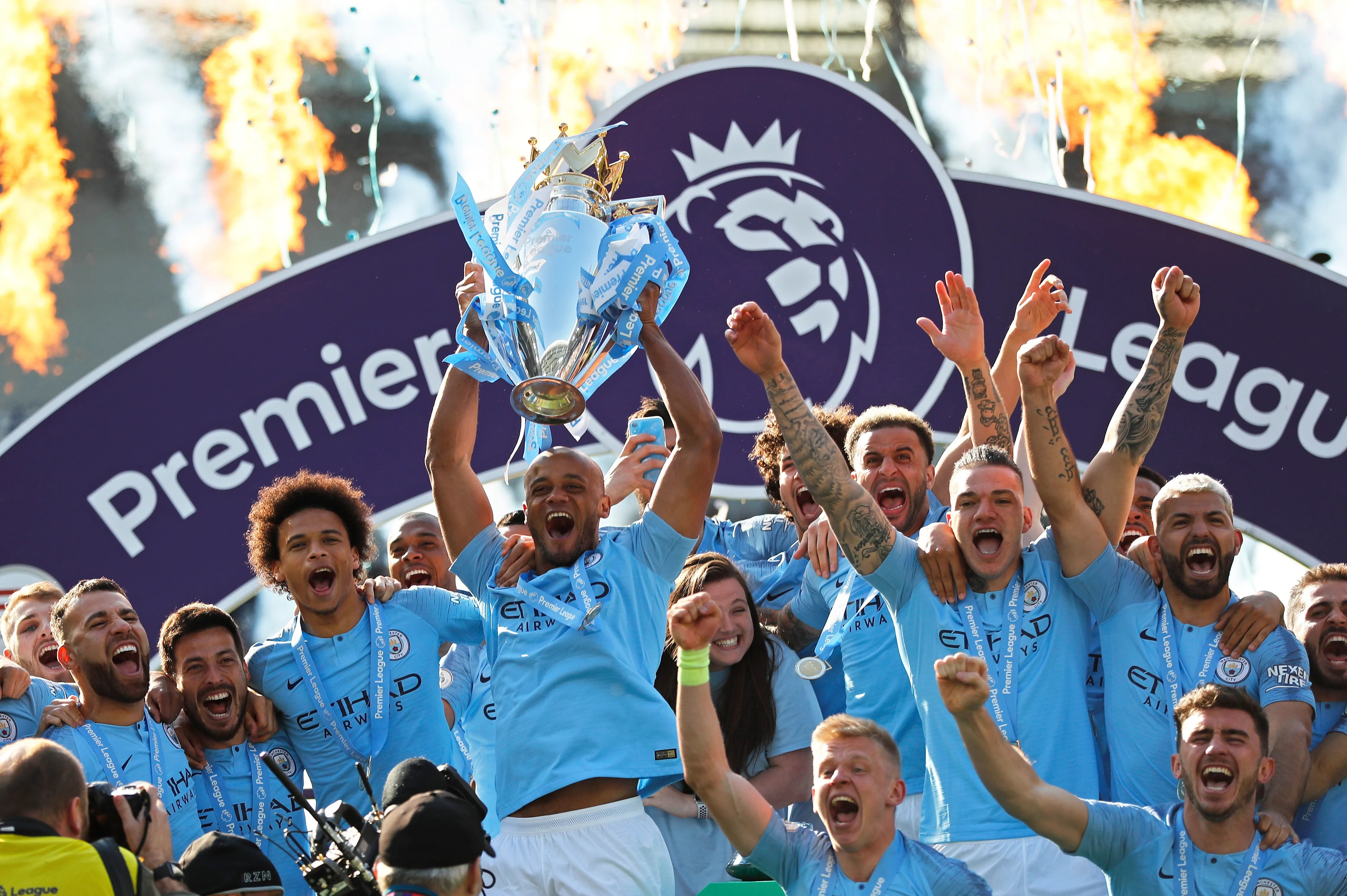 Manchester City Wins Second Straight Premier League Title