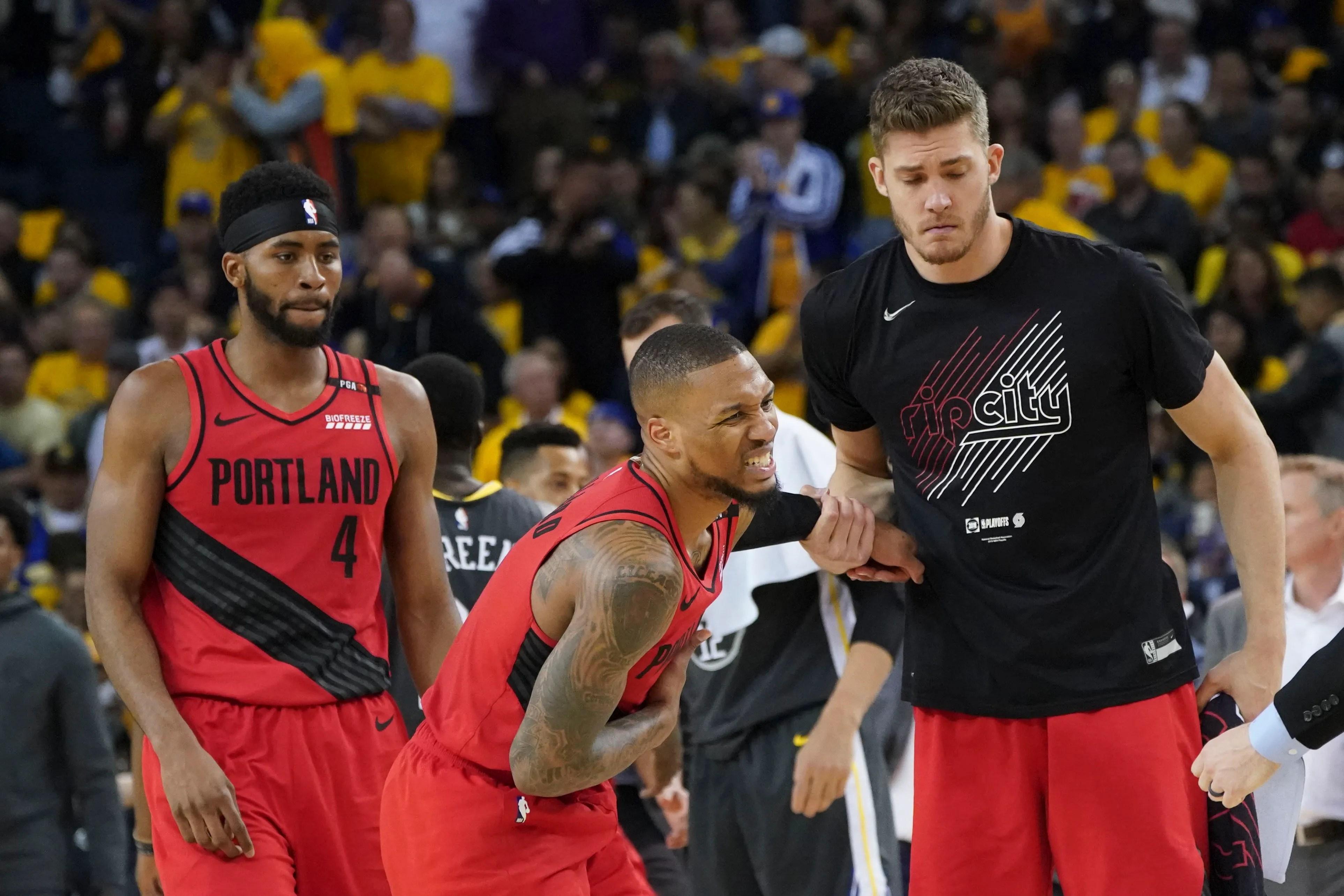 Nba Playoffs Portland Trail Blazers Damian Lillard Has