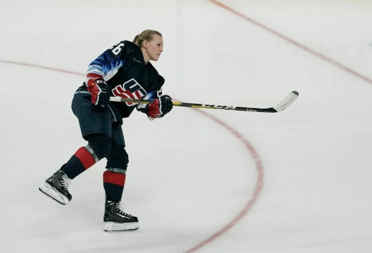 """""""It's time to stand together and work to create a viable league that will allow us to enjoy the benefits of our hard work,"""" Kendall Coyne says."""