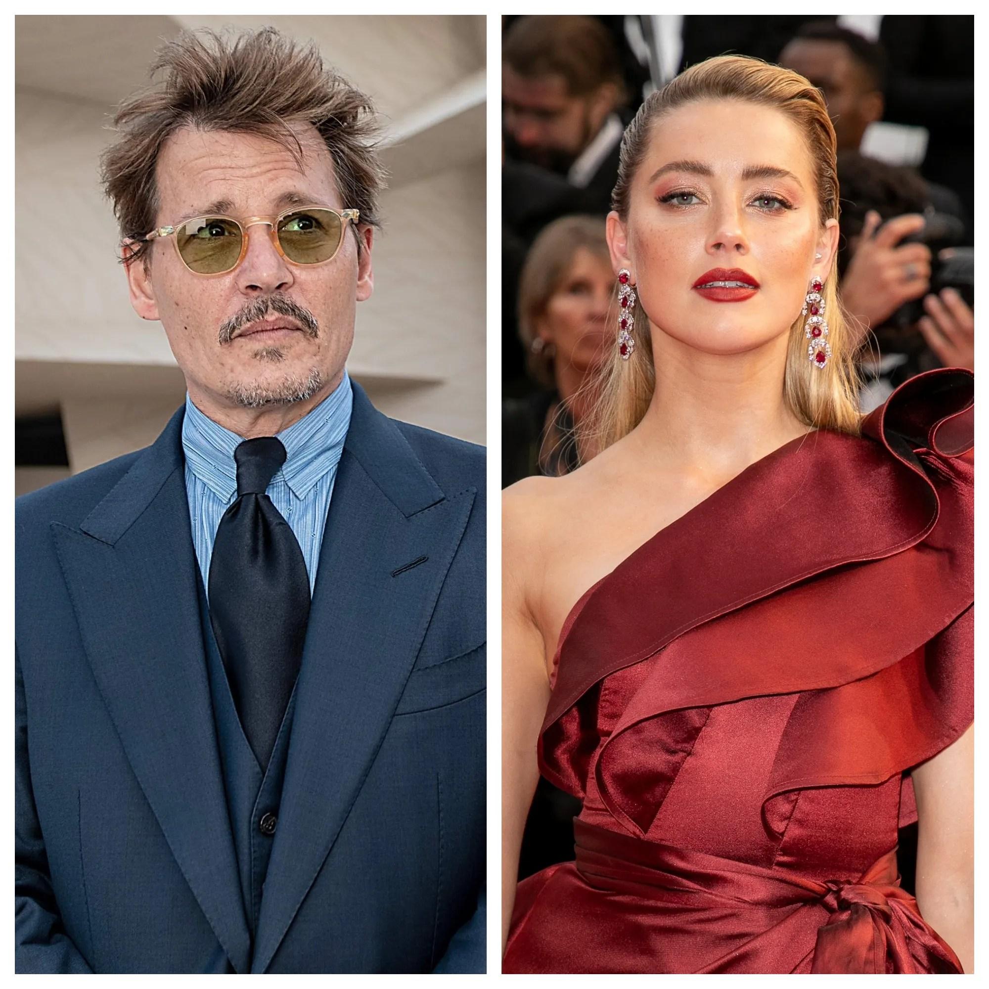 Johnny Depp . Amber Heard Submits Of Black Eye