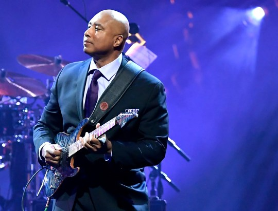 Bernie Williams performs during the 23rd annual Keep Memory Alive 'Power of Love Gala' benefit for the Cleveland Clinic Lou Ruvo Center for Brain Health at MGM Grand Garden Arena on March 16, 2019 in Las Vegas, Nevada.