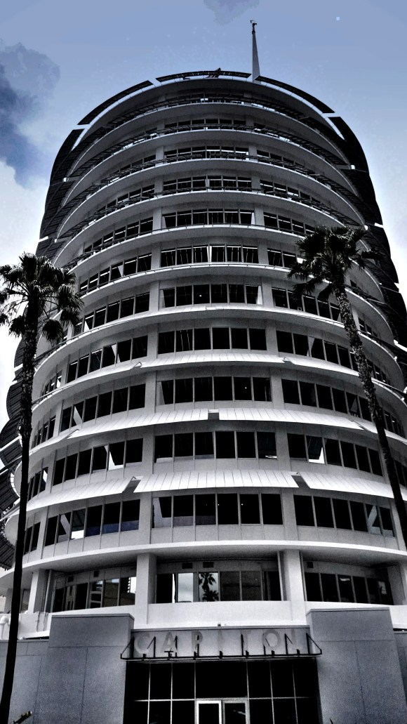Capitol Records building in Los Angeles