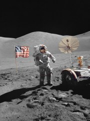 "Man first landed on the moon in 1969. The last human to walk on the lunar surface was NASA astronaut Eugene ""Gene"" Cernan, in 1972."
