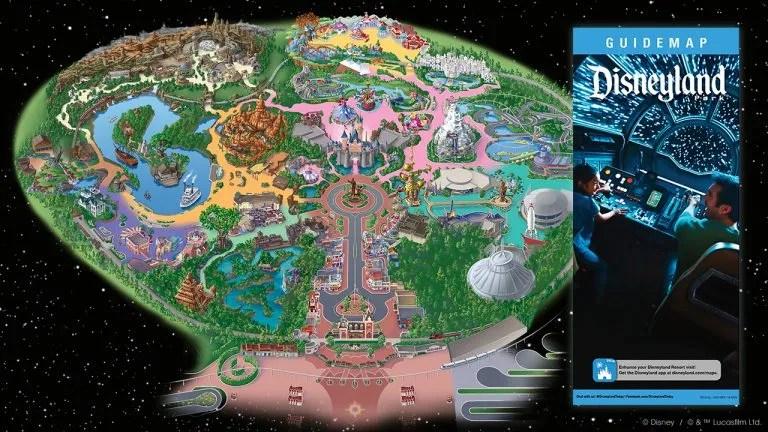 Disneyland Map Navigate Star Wars Land