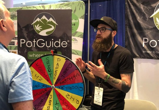 PotGuide.com was among the vendors at the Cannabis World Congress and Business Expo Friday in New York.