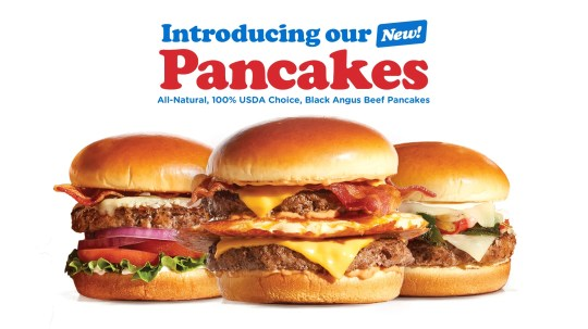 """In a new ad campaign, IHOP calls its burgers """"pancakes."""""""