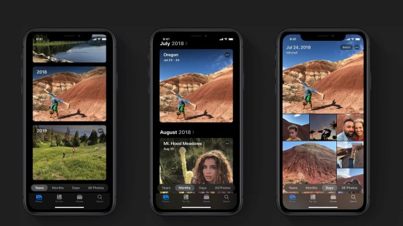 La nouvelle application Photos d'Apple pour iOS13