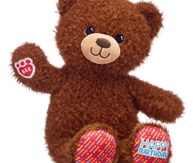The Birthday Treat Bear Is Available All Year So That On The Month Of Their Birthday