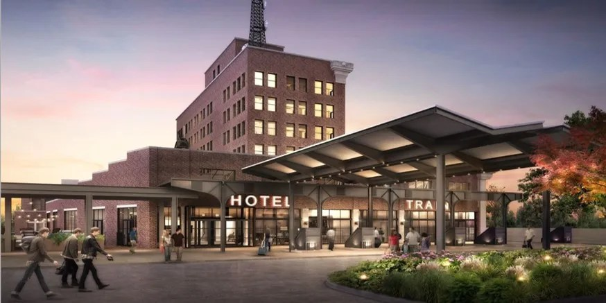 Memphis Hotels Central Station Hotel Open In