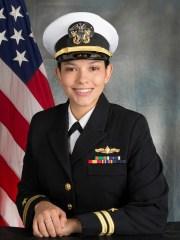 Surface Warfare Naval officer LTJG Chloe Piña