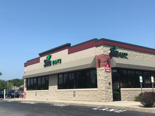 The restaurant opened in the former Mighty Taco location at 2570 Ridgeway Ave. in Greece in September 2018.