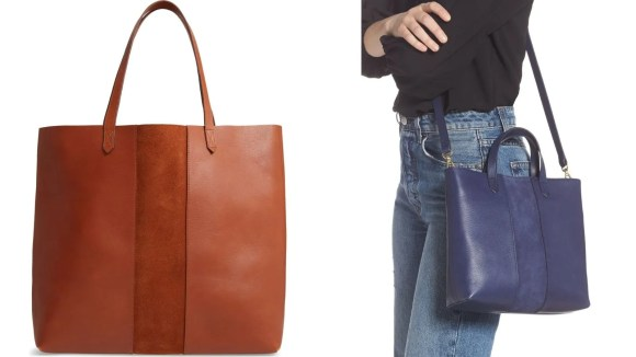 Totes that are perfect from the office to a night out.