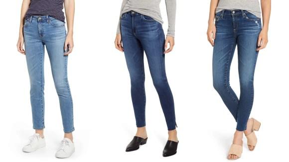 Estos pantalones vaqueros de AG tienen una retención de forma increíble y pueden ofrecer una silueta muy favorecedora.