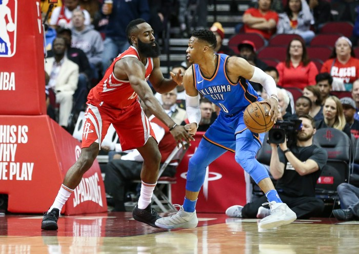 Russell Westbrook and James Harden are reuniting in Houston.
