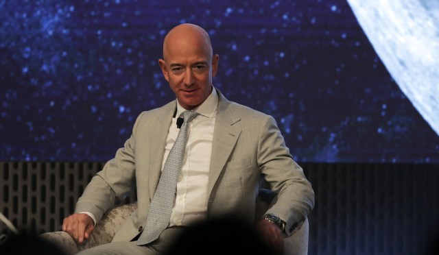 08582b05-95f5-4c9b-9c67-25ff6d2852a3-AP_JFK_Space_Summit Jeff Bezos: I spend my billions on space because we're destroying Earth