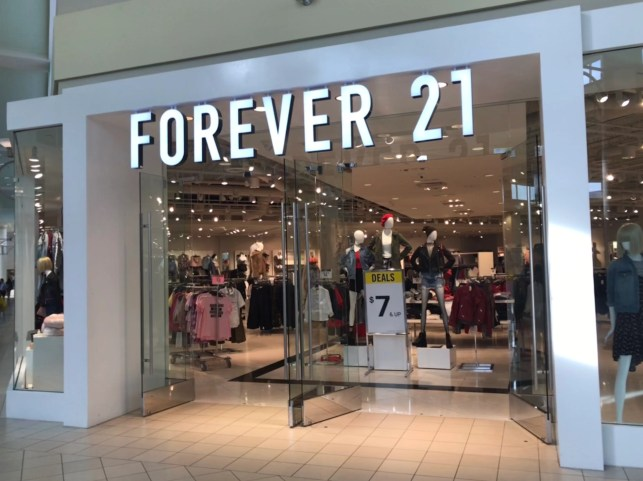 Forever 21 says reports are wrong, company is 'not planning to file for bankruptcy Sunday'